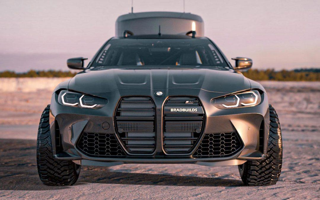 Zo ziet de nieuwe BMW M4 eruit als camper – Autoblog.nl