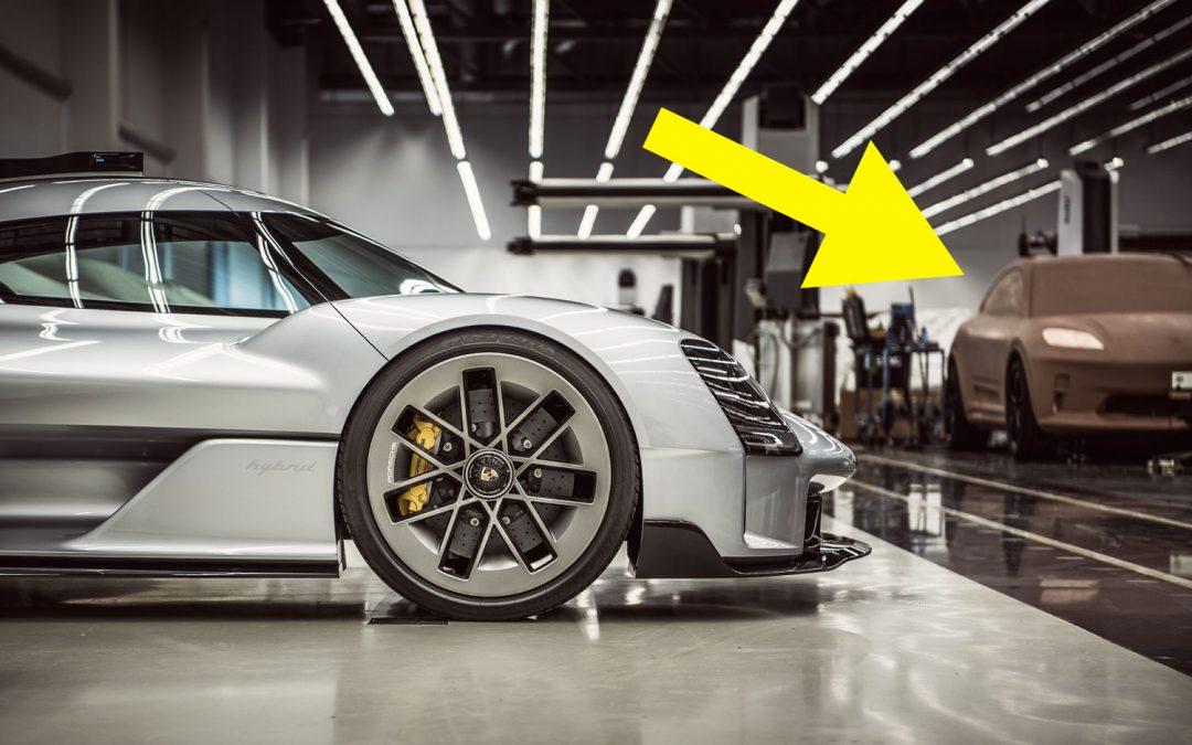Porsche laat 'per ongeluk' volgende elektrische model zien – Autoblog.nl