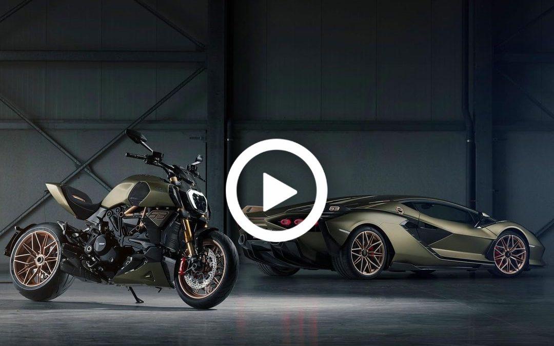 Video – speciale Ducati Diavel 1260 staat in het teken van Lamborghini – Autoblog.nl