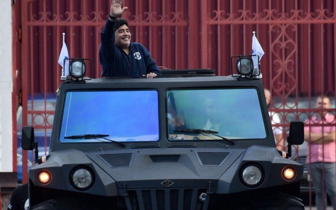 De bizarre autoverhalen van Diego Maradona – Autoblog.nl