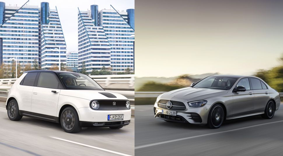 Wat hebben de Mercedes E-Klasse en Honda e gemeen? – Autoblog.nl