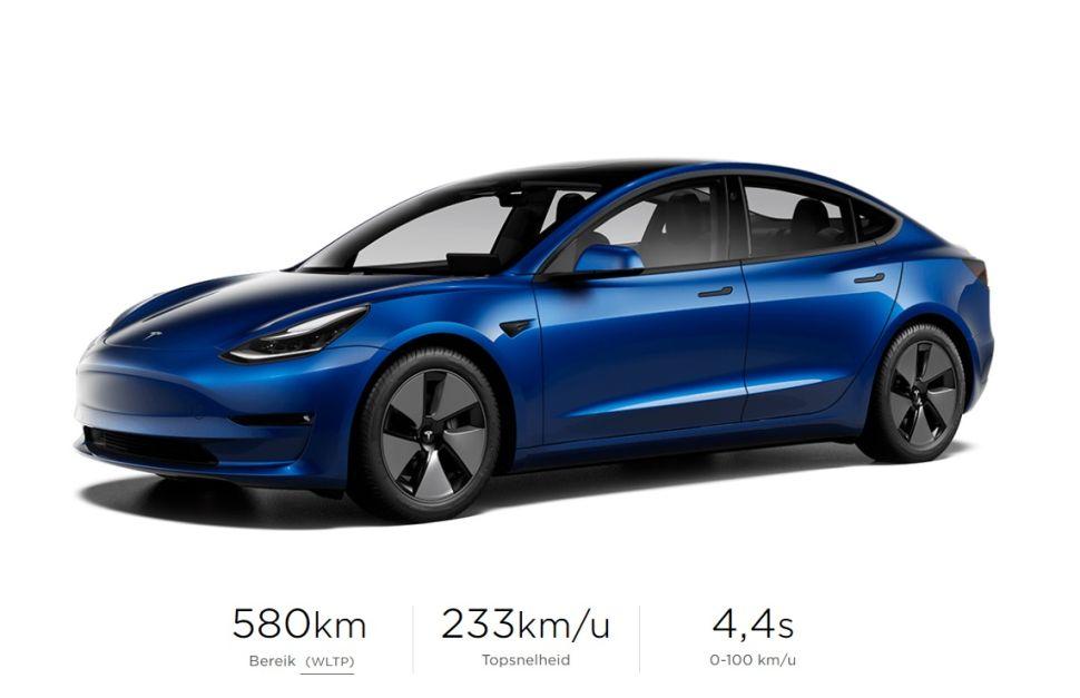 Zo veel groeide de accu van de Tesla Model 3 – Autoblog.nl
