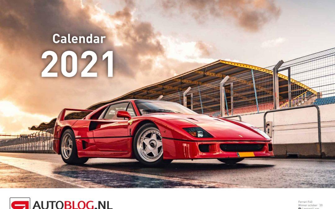 Nieuw in de shop: de enige echte Autoblog-kalender – Autoblog.nl