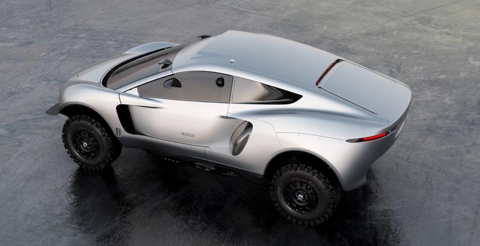 Dit is het nieuwe rallykanon van Ian Callum voor Le Dakar – Autoblog.nl