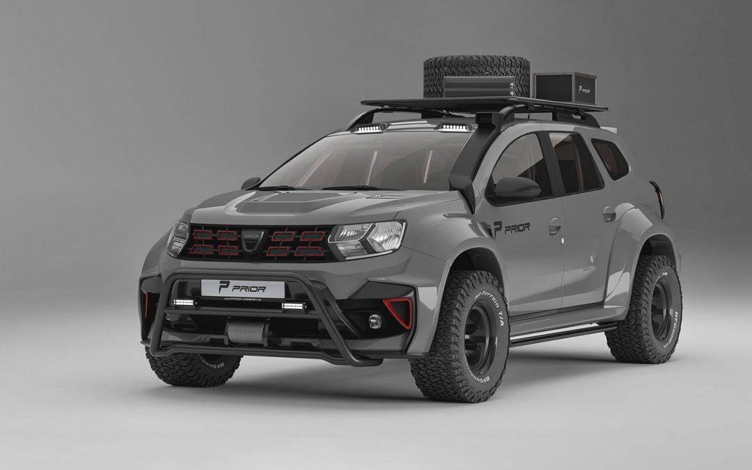 Deze Dacia Duster deinst niet terug een beetje stof – Autoblog.nl