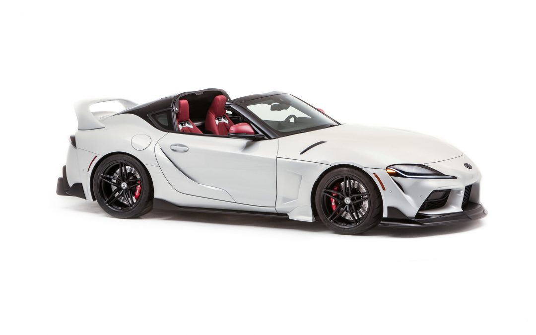 Dít is de Toyota GR Supra Sport Top met targadak – Autoblog.nl