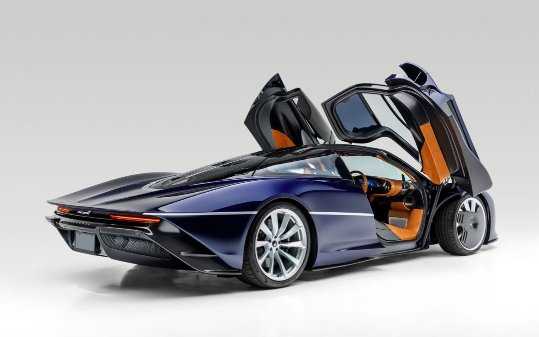 Je kunt nu alsnog een gloednieuwe McLaren Speedtail kopen – Autoblog.nl