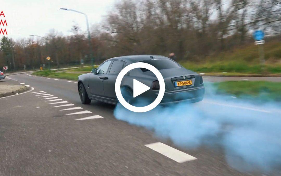 Video – Foutste Ghost van Nederland doet burn-outs – Autoblog.nl