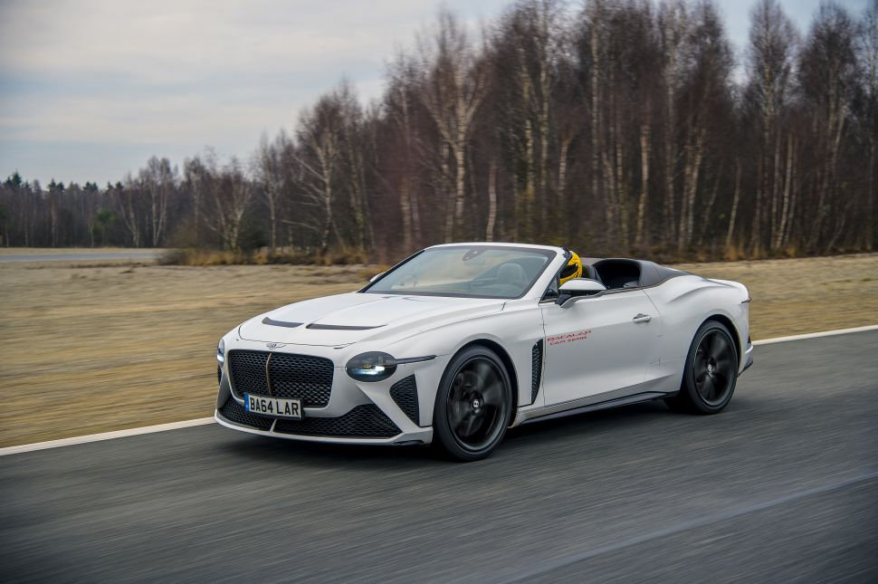 Bentley Bacalar wordt getest: zo hard kan 'ie! – Autoblog.nl