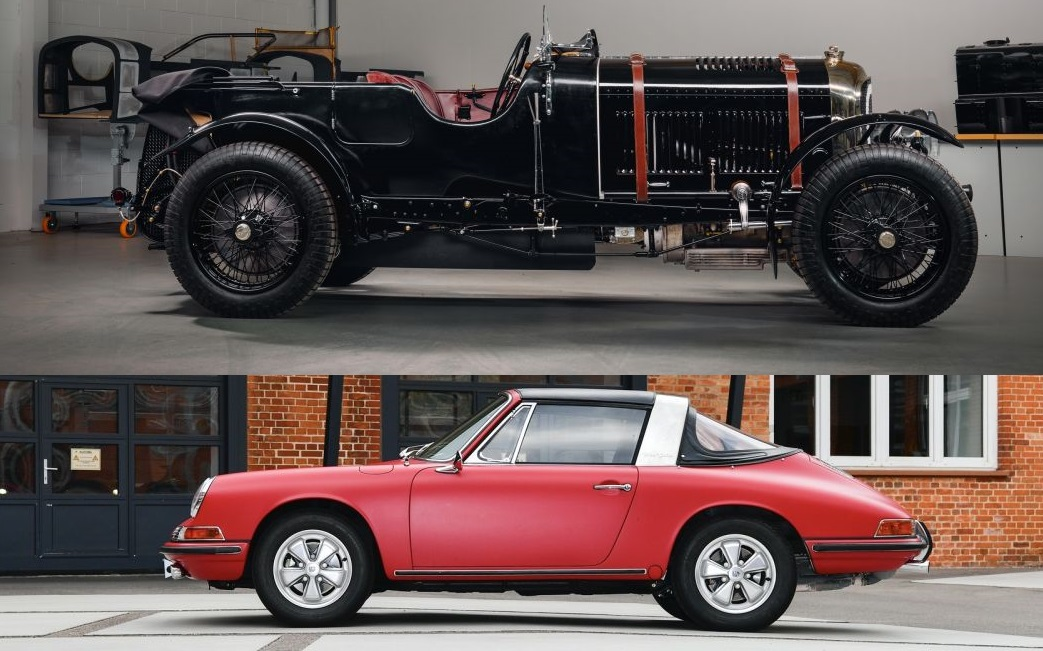 Unieke Porsche en Bentley zijn weer spic en span – Autoblog.nl