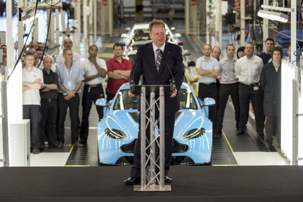 Andy Palmer: Engeland kan zijn auto-industrie verliezen – Autoblog.nl