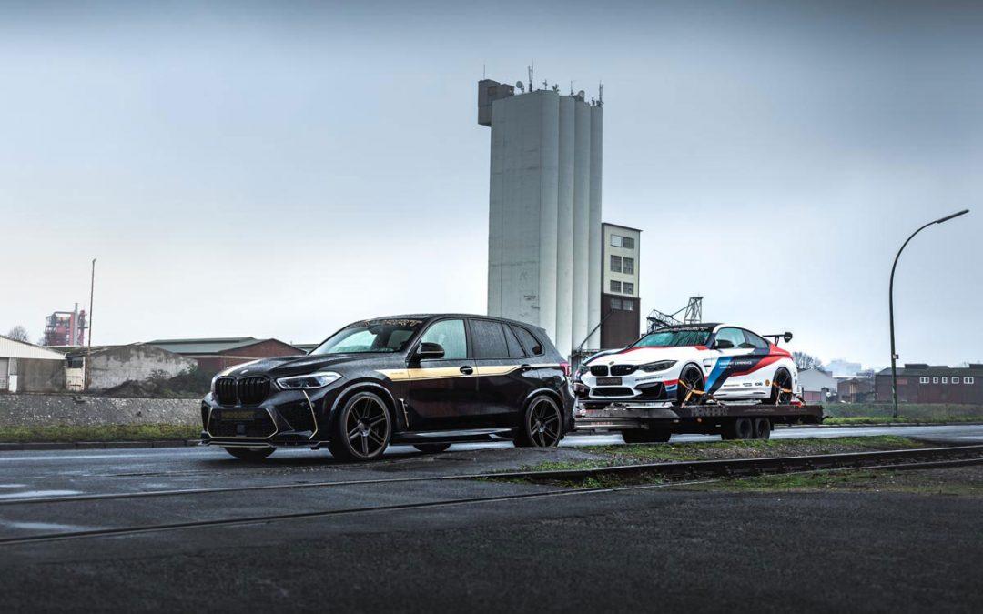 X5 M met 823 pk is ideaal als je haast hebt met je aanhanger – Autoblog.nl