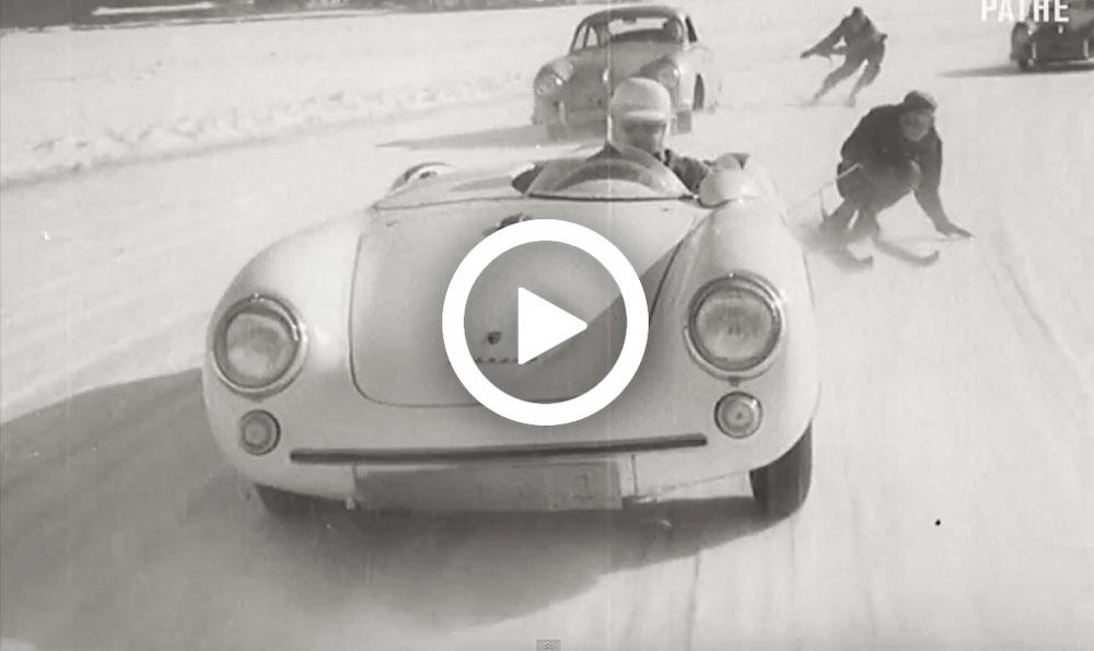 Video – Uit de oude doos: gevaarlijke sneeuwpret met Porsches – Autoblog.nl