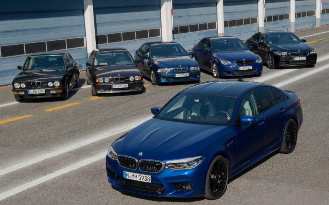 Alle speciale BMW M5 uitvoeringen op een rijtje – Autoblog.nl
