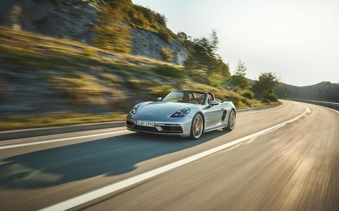 Porsche Boxster 25 Years heeft gelukkig de juiste motor – Autoblog.nl