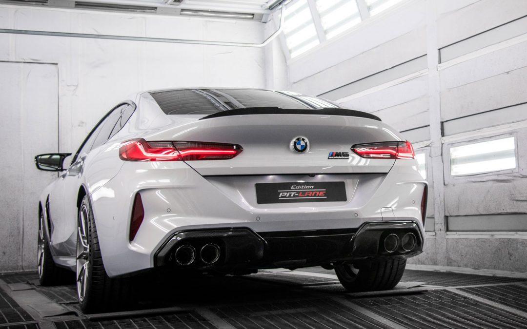 Edition Pit Lane is 'racy' BMW M8 Gran Coupé – Autoblog.nl