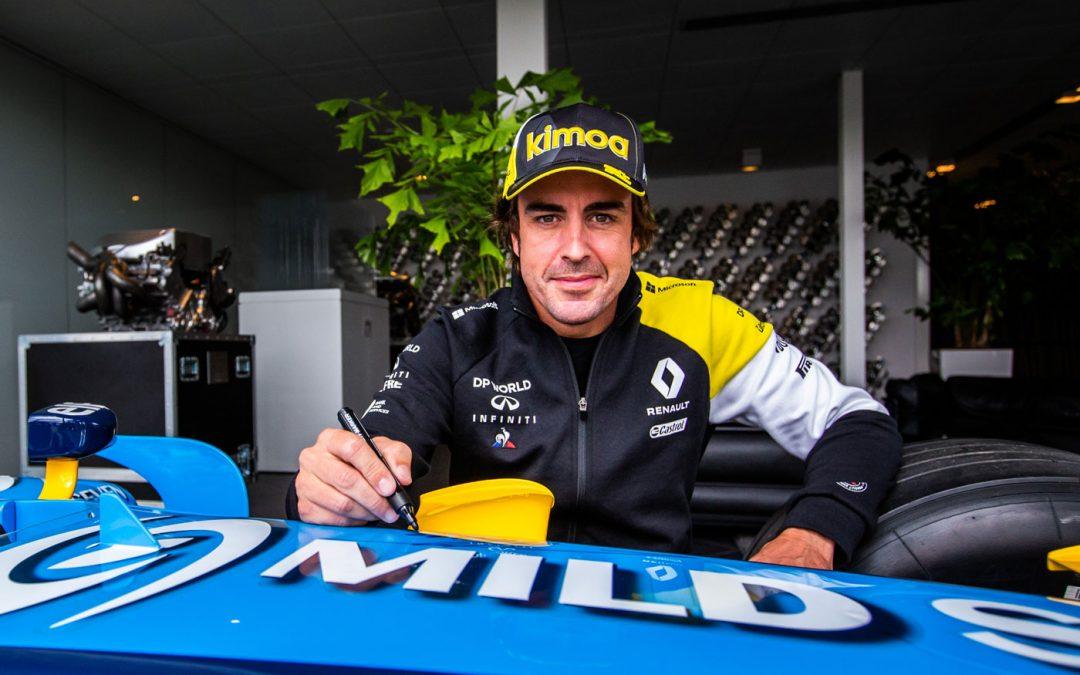 Alonso aangereden, mist mogelijk seizoensstart – Autoblog.nl