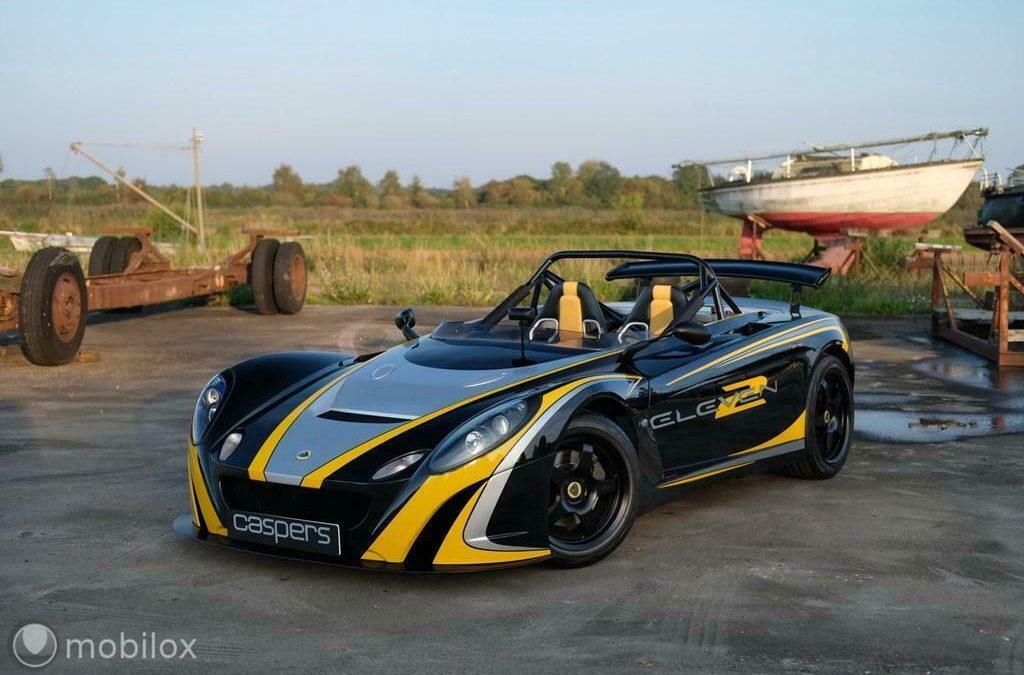 Te koop: de meest spartaanse Lotus van Nederland – Autoblog.nl