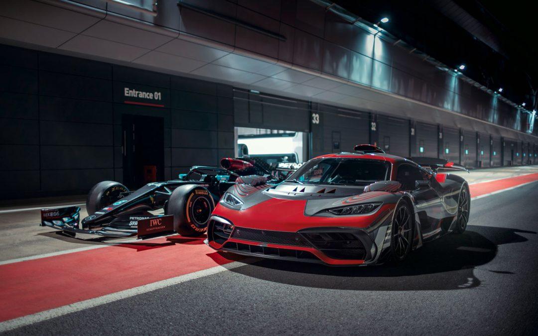 Mercedes-AMG Project One begeeft zich op het circuit [video] – Autoblog.nl