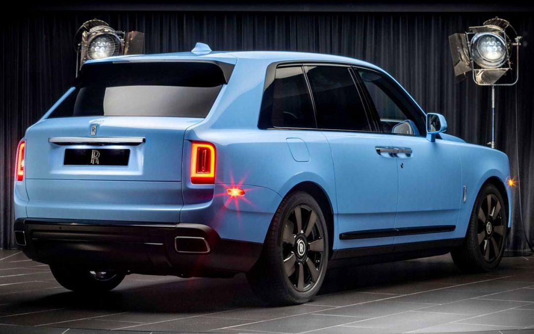 Rolls-Royce geeft de Cullinan kekke kleurtjes – Autoblog.nl