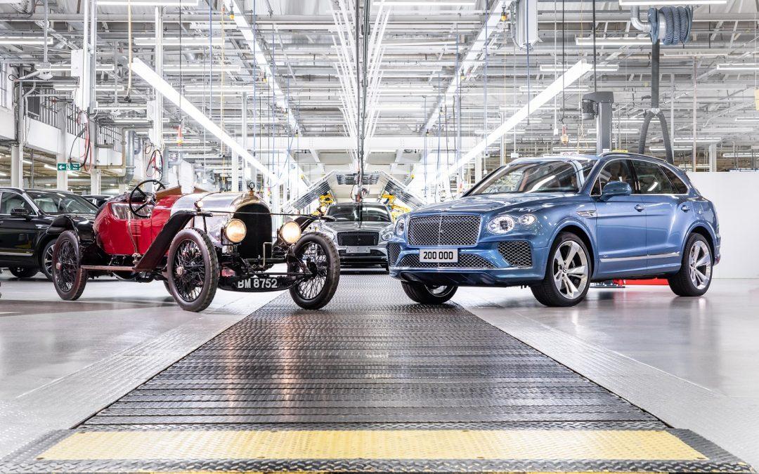 Zo bizar weinig auto's heeft Bentley in ruim 100 jaar gemaakt – Autoblog.nl