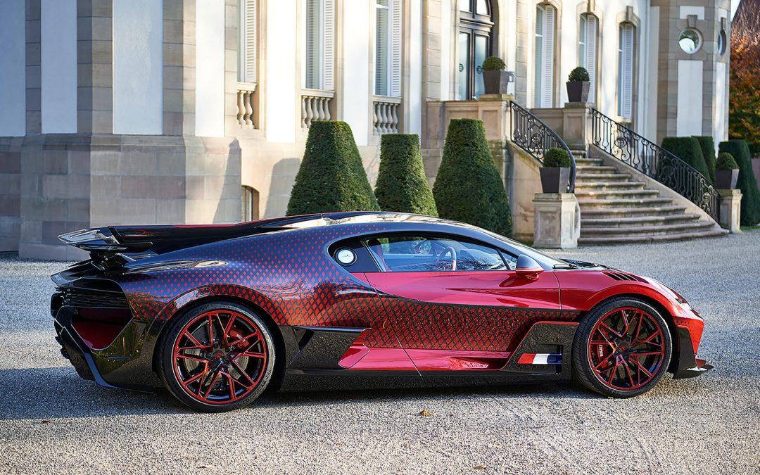 Deze Bugatti Divo heeft een extreem moeilijk uiterlijk – Autoblog.nl