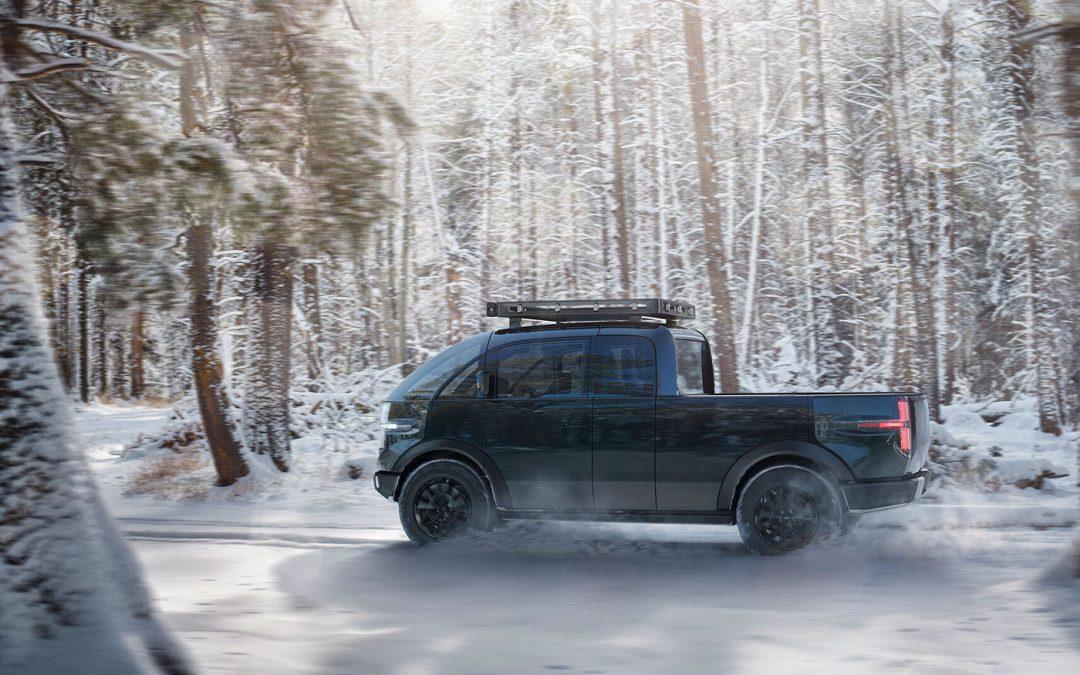 Canoo pick-up is guitig en elektrisch – Autoblog.nl