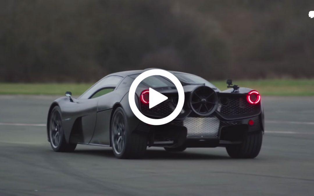 Video – Gordon Murray gaat het circuit op met de T.50 – Autoblog.nl