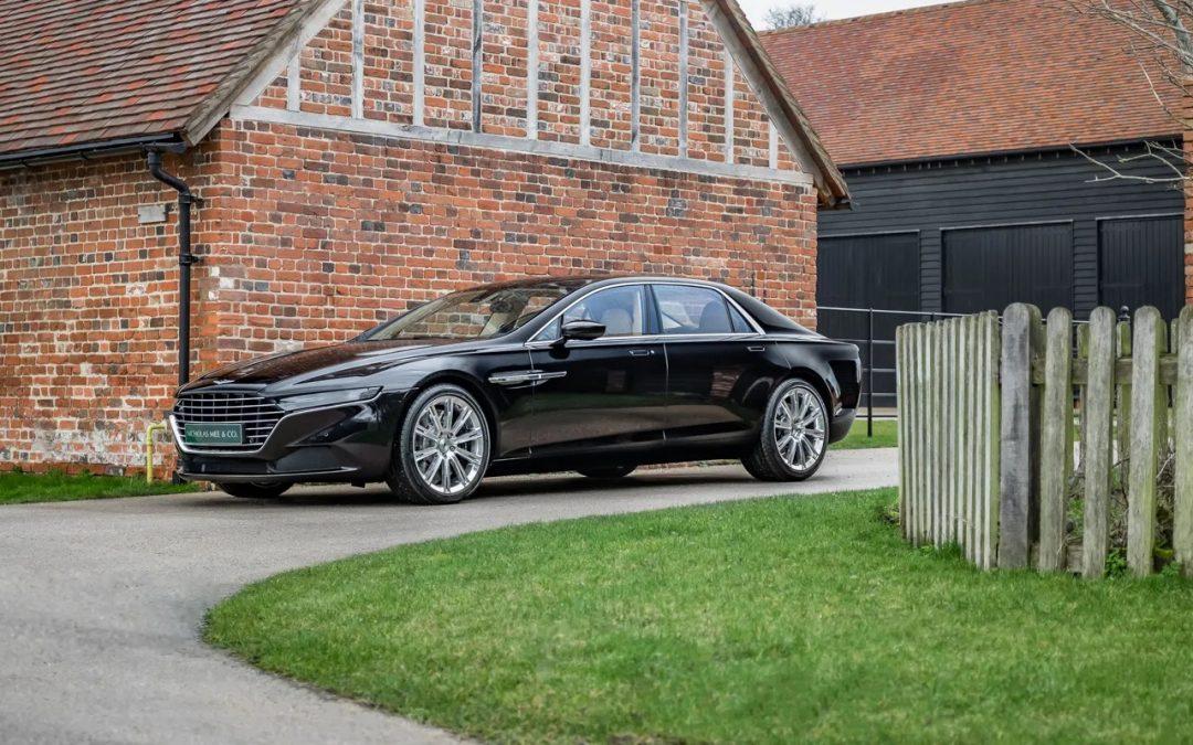 Een van Lagonda's laatste sedans staat nu te koop – Autoblog.nl