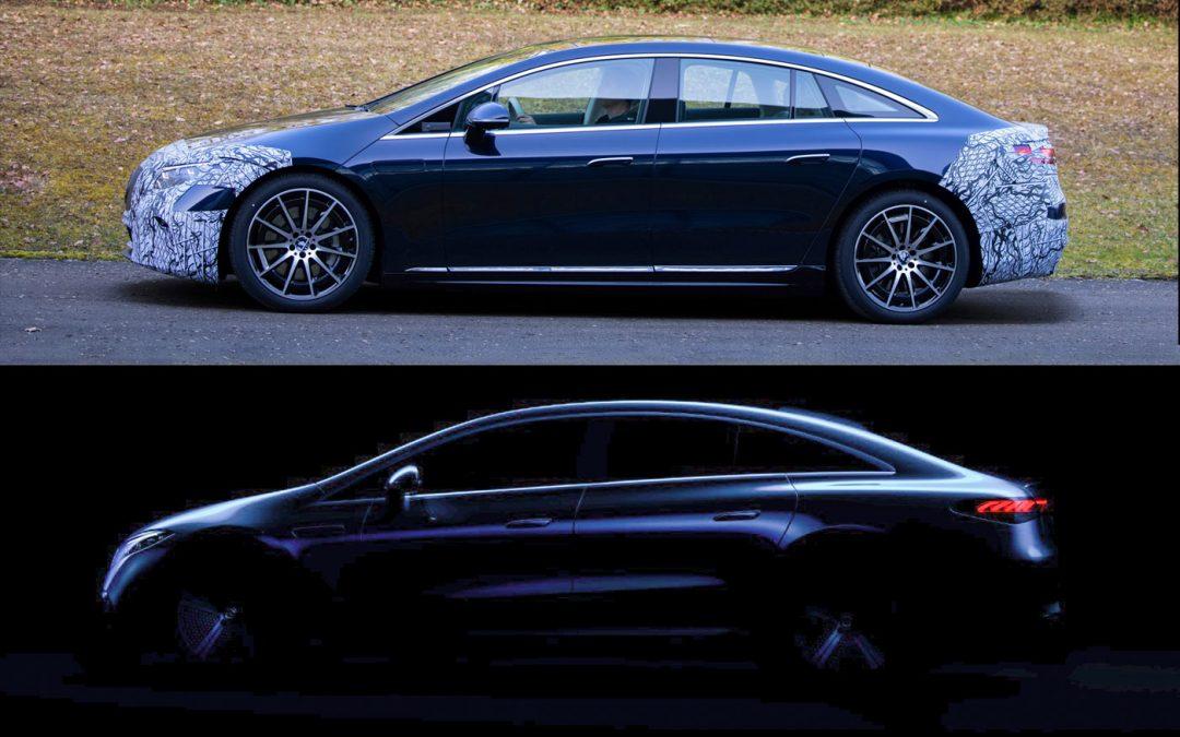 Zo gaat de productieversie van de Mercedes EQS eruitzien – Autoblog.nl