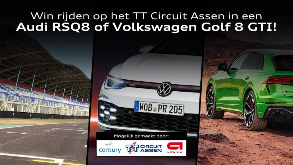Winactie! Rijden op TT Circuit Assen met Audi RSQ8 of Golf 8 GTI! – Autoblog.nl