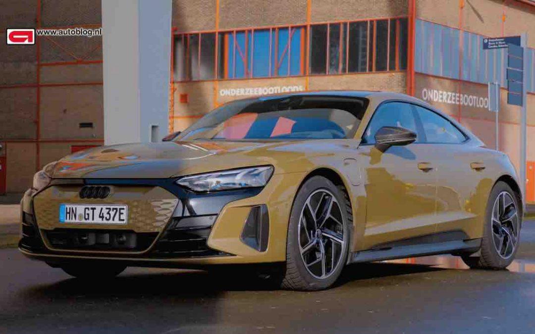 Audi RS e-tron GT rijtest – Autoblog.nl