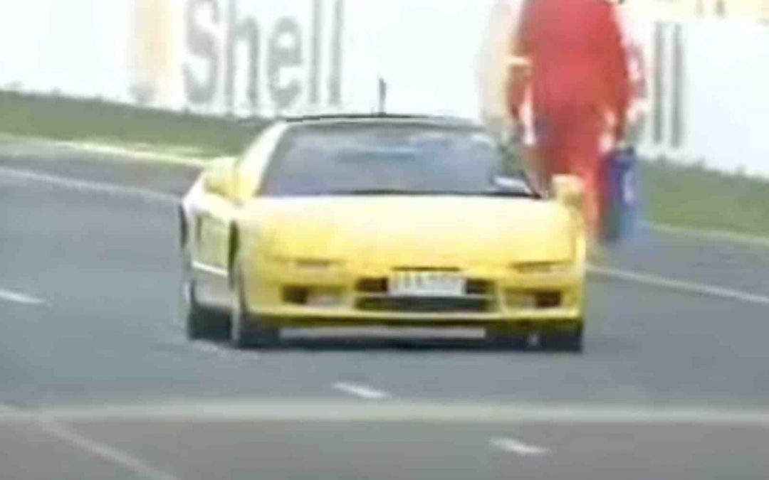 Video: Murray Walker maakt Hill bang in NSX – Autoblog.nl