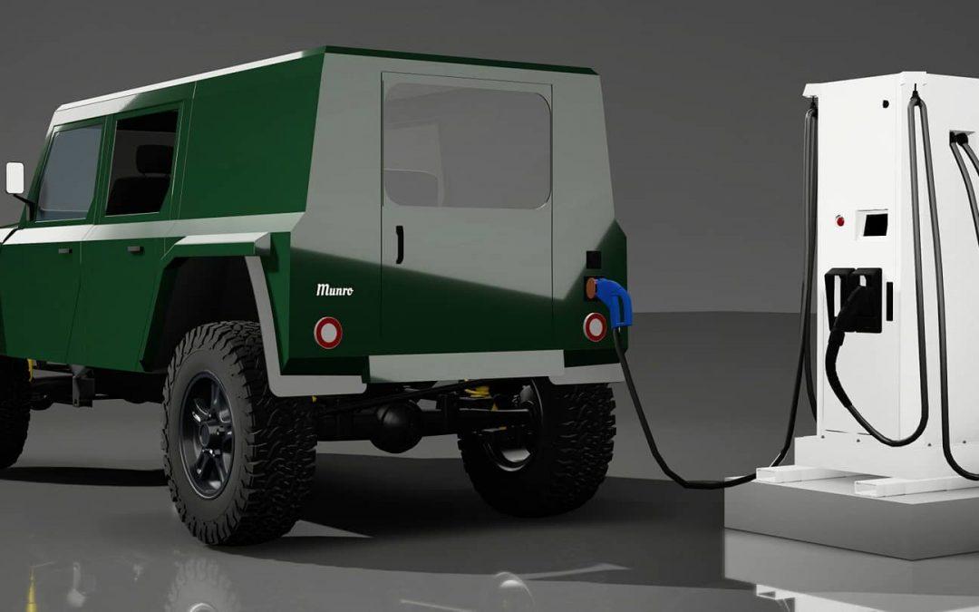 Is de Munro Mark I de échte nieuwe Land Rover Defender? – Autoblog.nl