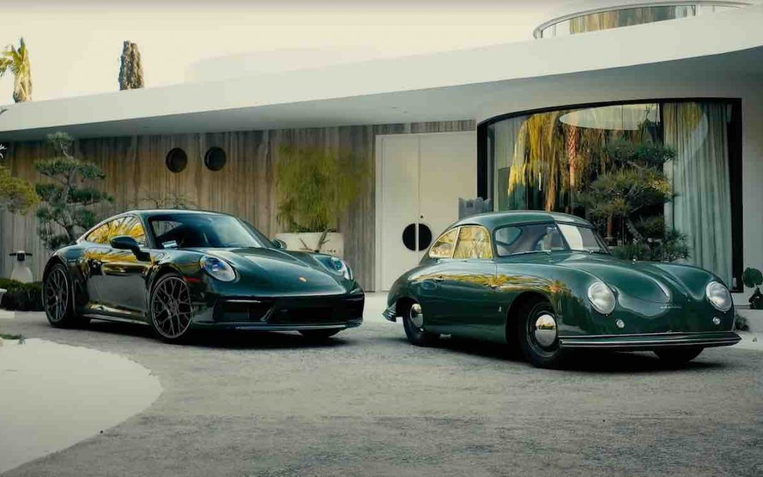 Video: Porsche brengt identieke 992 en 356 samen – Autoblog.nl