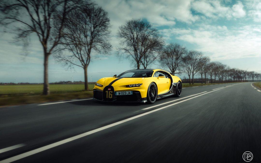 Bugatti Chiron Pur Sport speelt buiten in Nederland – Autoblog.nl