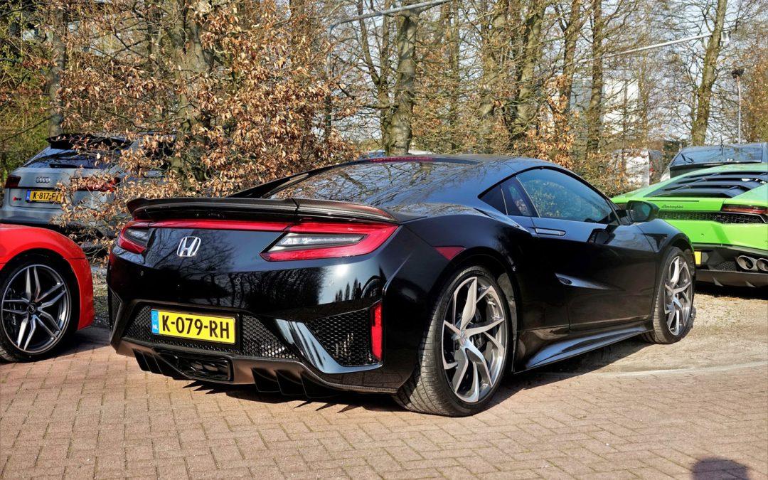 Gespot: eerste nieuwe Honda NSX op Nederlands kenteken – Autoblog.nl