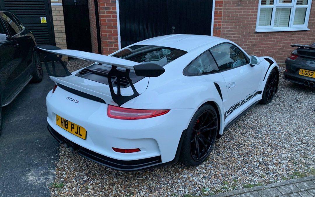 Deze Porsche 991 GT3 RS is stiekem geen 991 GT3 RS – Autoblog.nl