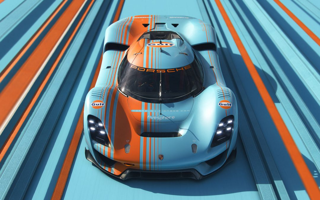 Moderne Porsche 908 in Gulf-trim is zeer smakelijk – Autoblog.nl