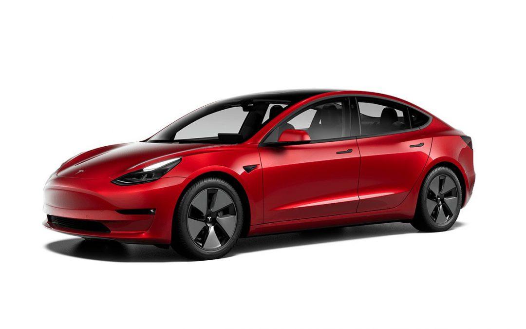 Tesla Model 3 blijft aan kop: nu 600+ km range – Autoblog.nl