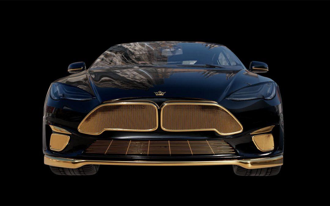 Tesla Model S met 24-karaats goud is kaviaar op wielen – Autoblog.nl