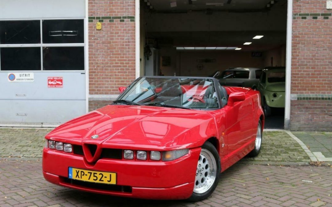 Rode Alfa RZ is heerlijke Nederlandse nostalgie – Autoblog.nl