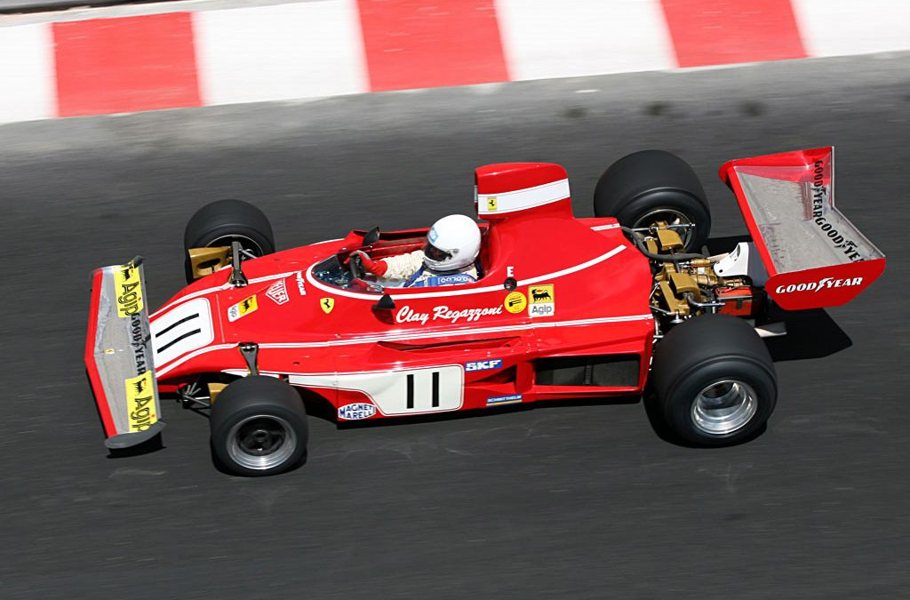 Video – waan je in een videogame met oude Ferrari F1 auto – Autoblog.nl