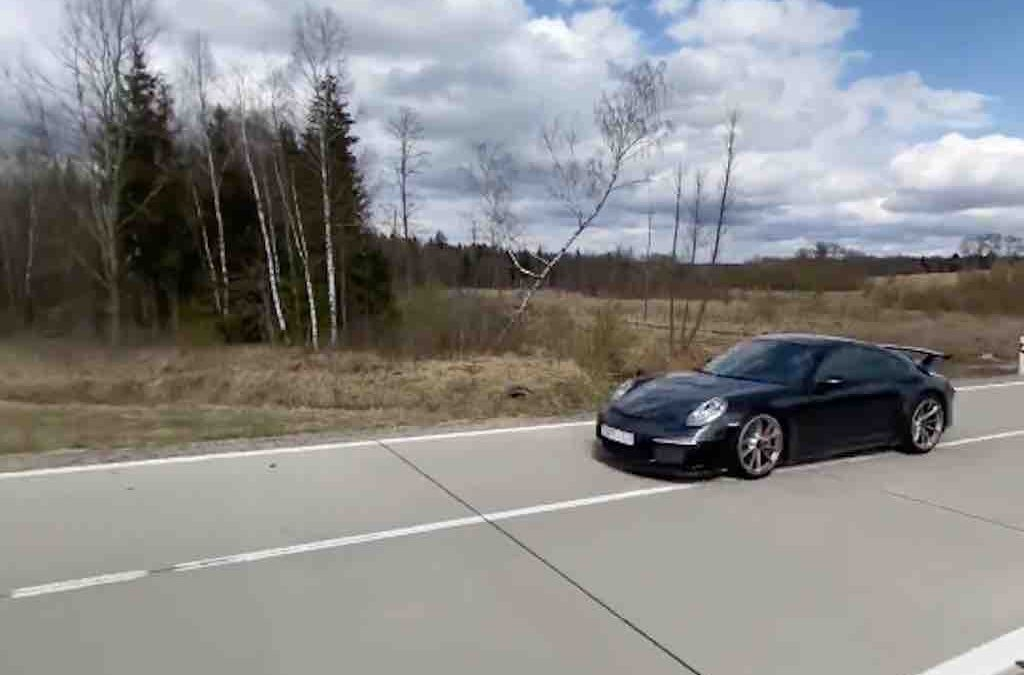 Video: zo vet klinkt een Porsche 911 GT3 met ipe uitlaat – Autoblog.nl