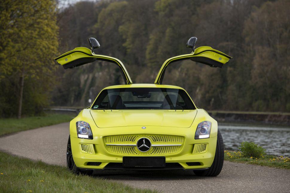 Nederlandse Mercedes SLS occasion kost één miljoen euro – Autoblog.nl