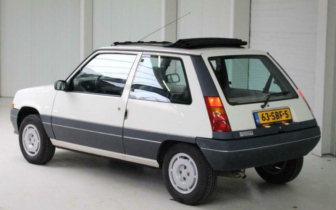 Renault 5 automaat is rijdende tijdmachine – Autoblog.nl
