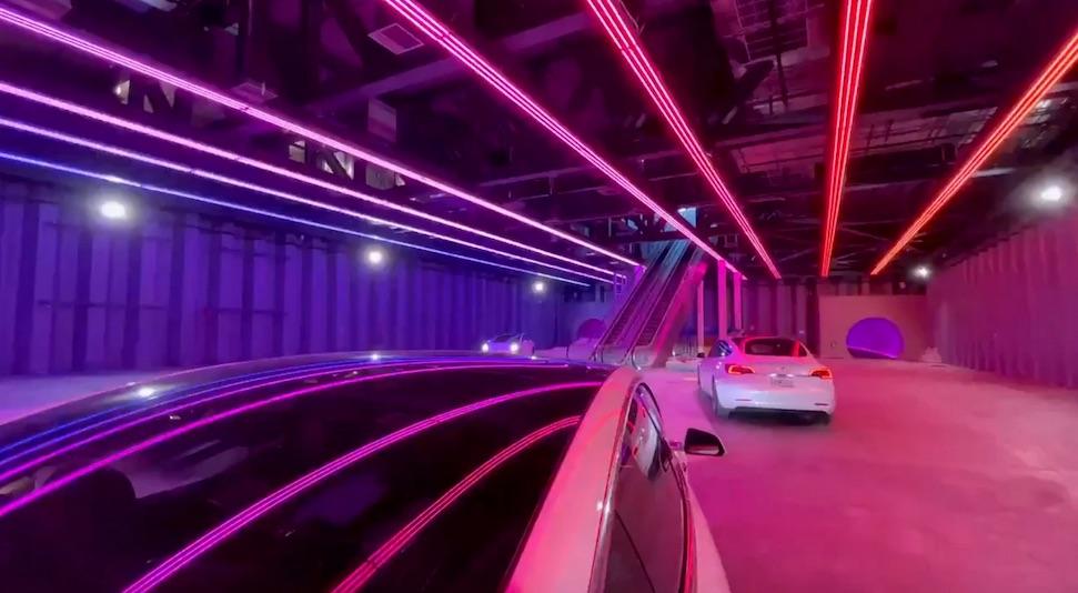 Hypermoderne Tesla Tunnel valt ontzettend tegen – Autoblog.nl