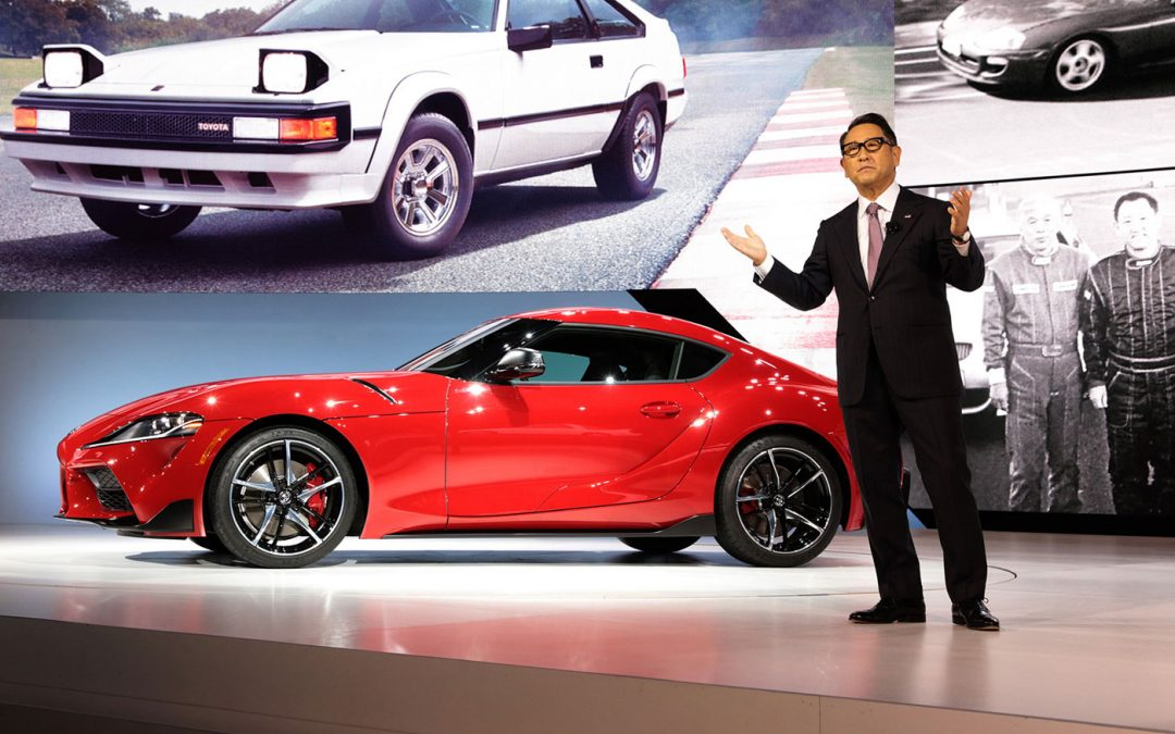 Toyota-baas mag niet kritisch zijn op benzineauto-ban – Autoblog.nl