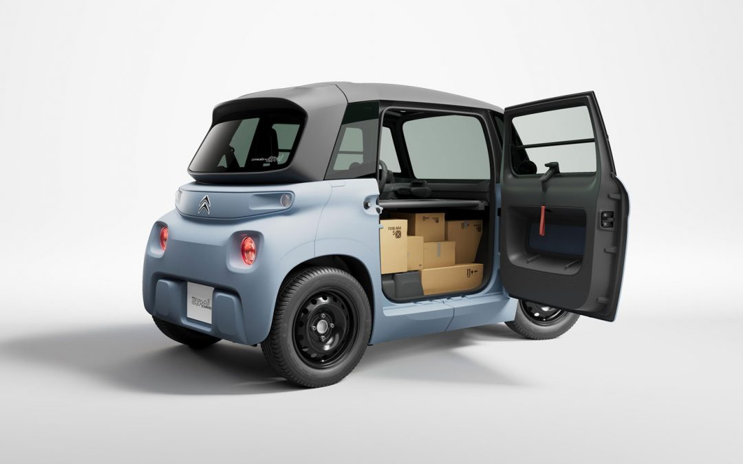 Citroën Ami Cargo is charmant bedrijfswagentje – Autoblog.nl