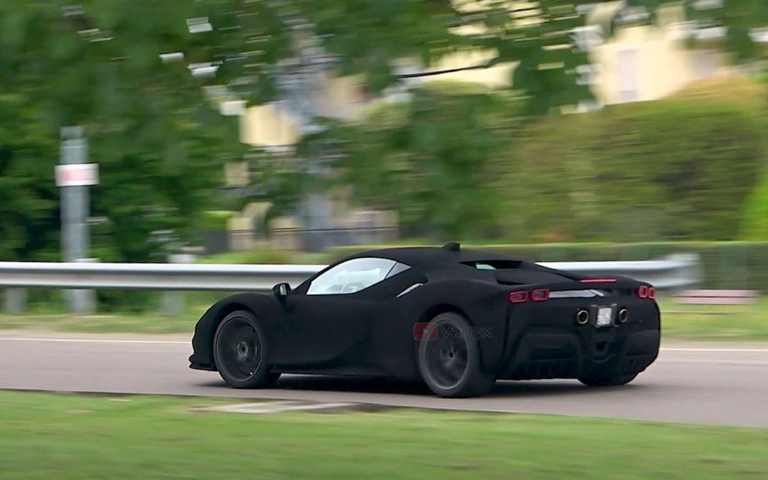 Ferrari maakt SF90 onzichtbaar met Vantablack camouflage [video] – Autoblog.nl
